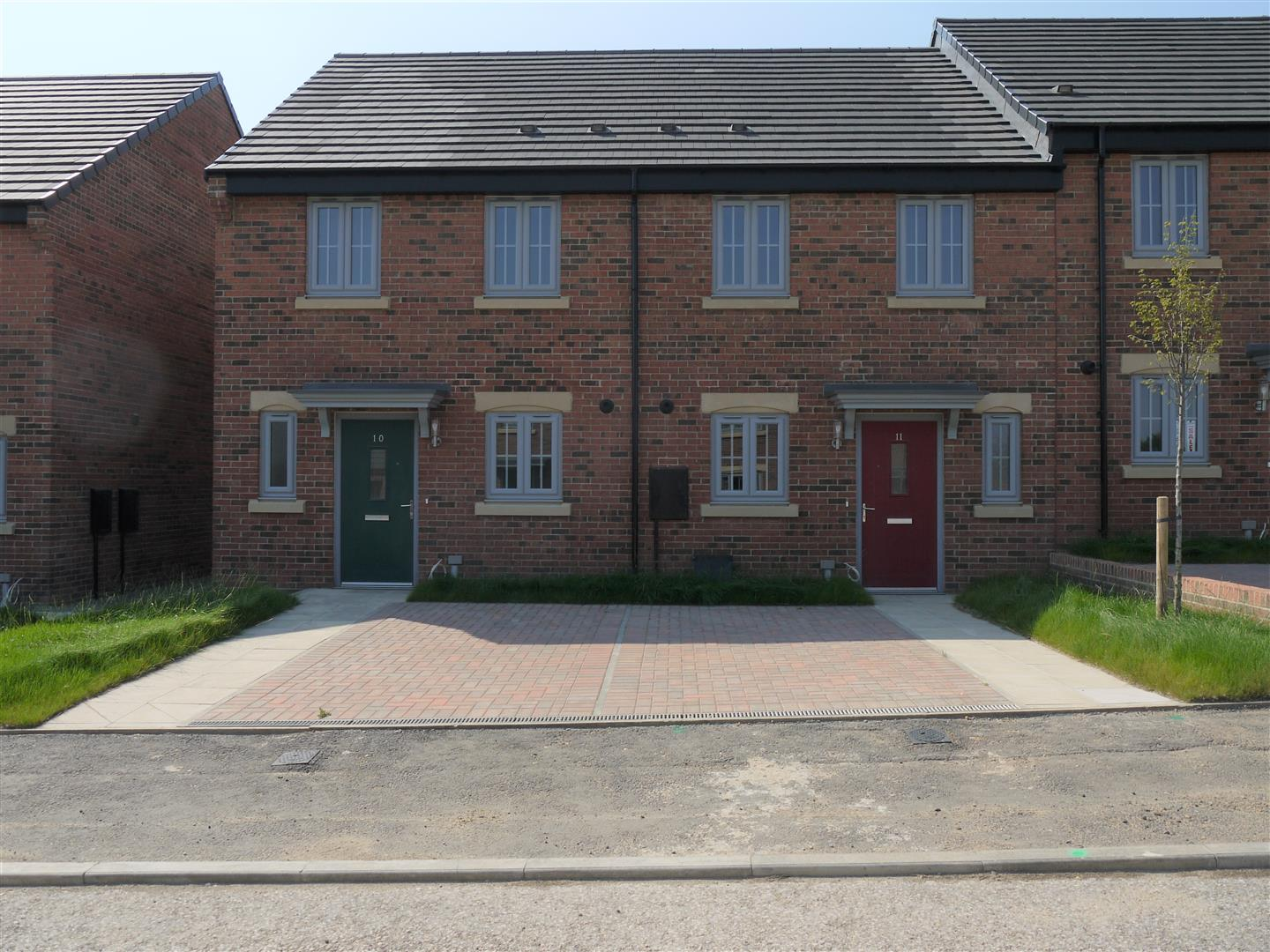 Furrow Grange Middlesbrough, 2 Bedrooms  House - semi-detached ,UK New Homes
